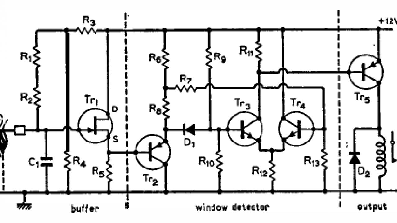 Ic Cs209a Metal Detector Circuit Diagram