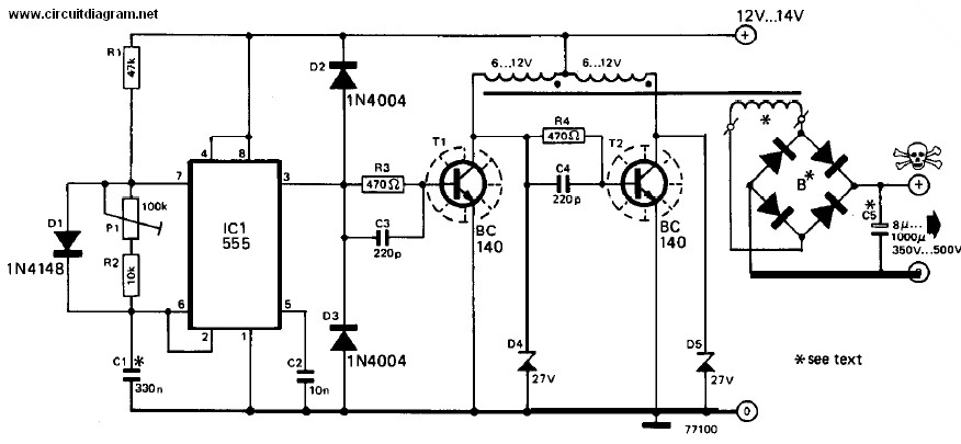 Inverter 12v dc to 240v dc circuit schematic cheapraybanclubmaster Gallery