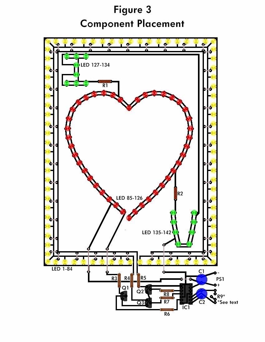 Superb Led Flashing Heart Circuit Schematic Wiring 101 Cranwise Assnl