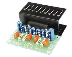 3W stereo amplifier kit