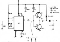 Active DC Voltage Doubler Circuit Electronic
