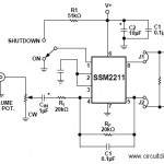 1.5W Audio Amplifier with IC SSM2211