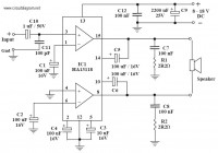 18W Audio Amplifier based power IC HA13118