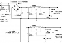 Hobby Power Supply Circuit Electronic