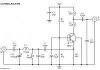UHF TV Antenna Booster Circuit Electronic