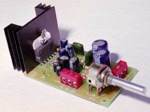 6-10W Stereo Audio Amplifier Kit