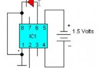 LED Flasher Circuit Electronic