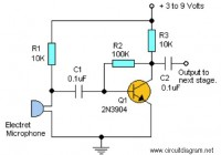 simple pre-amp circuit Electronic