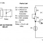 Dark and Light Activated Relay