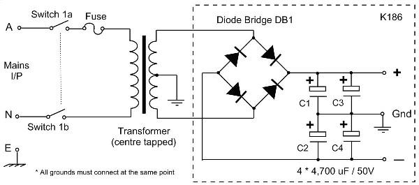2 x 30w audio amplifier with stk 465 circuit scheme stk ic watts list 2 x 30w audio amplifier with stk 465