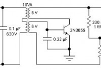 2N3055 Inverter Circuit Diagram | Inverter Using 2n3055 Tags Electronic Circuit Diagram