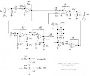 Harmonic Sweetener Circuit Diagram