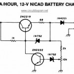 200mA/Hour – 12V NiCAD Battery Charger
