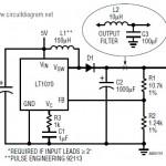 5VDC to 12VDC LT1070 Boost Converter