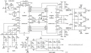 class-d power audio amplifier circuit based TDA8929T