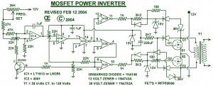 1000W Power Inverter Circuit