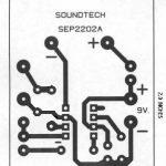 Metal Detector Circuit PCB Design