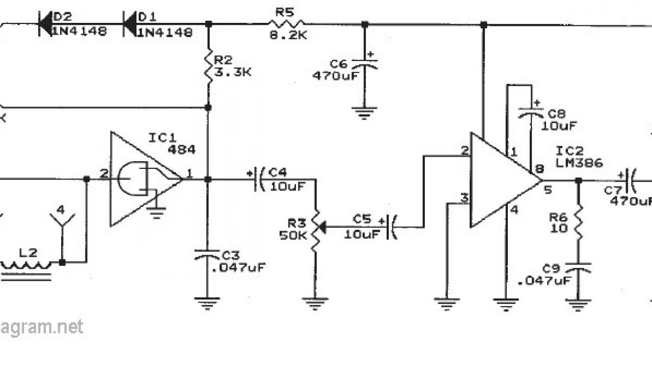 Ic 484 Am Radio Receiver Circuit Diagram | #1 Wiring Diagram