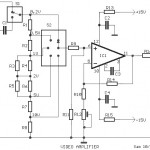 Video Amplifier based LH0032