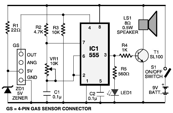 mq 6 circuit diagram lpg gas leakage sensor alarm circuit schematic iphone 6 circuit diagram