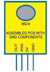 MQ-6 Gas Leakage Sensor Device