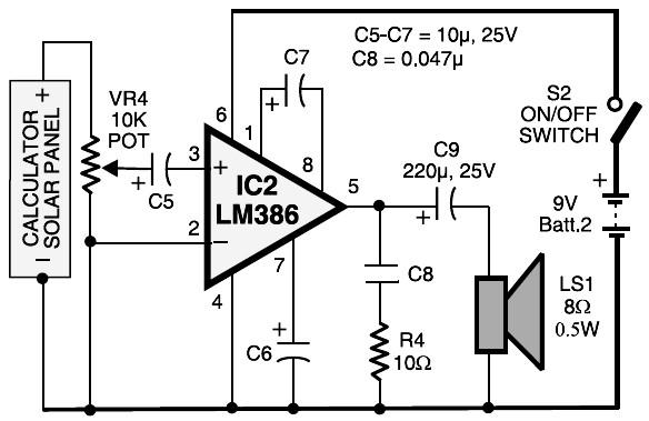 laser communication receiver circuit circuit schematiclaser communication \u2013 receiver circuit