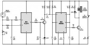 vibration seismic sensor diagram
