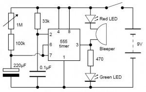 Adjustable Analog Timer Circuit