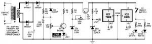 Mini UPS circuit diagram