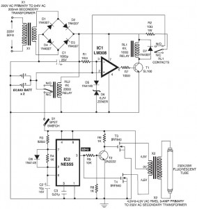 Automatic Switching-on Emergency Light - Circuit Schematic on emergency light bar, emergency light wire on red and white, emergency light power, emergency light control box, emergency light batteries, emergency light circuit board, emergency light testing, emergency light switch, emergency light circuit diagram, emergency light bulbs, emergency light fixture,