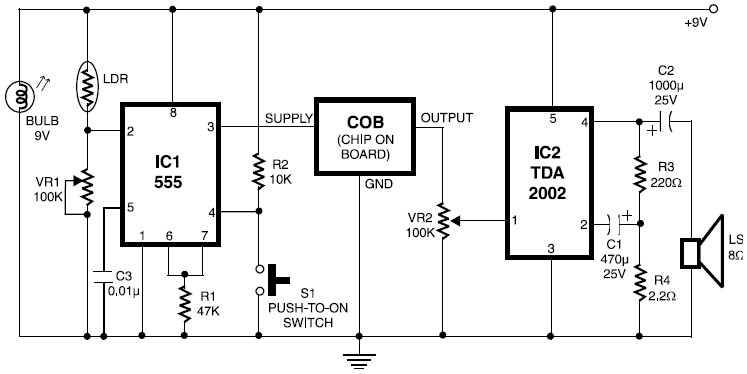 smoke detector circuit Tags - Electronic Circuit Diagram