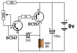 ticking bomb sound generator circuit schematic rh circuitscheme com