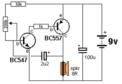 ticking bomb circuit electronic circuit schematic rh circuitscheme com Simple Electronic Circuits Simple Electronic Circuits