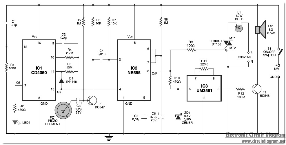 Shutter Guard Circuit Schematic