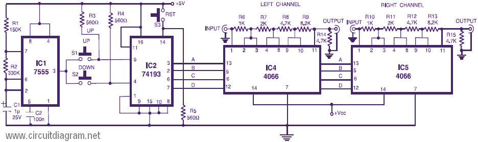 Peachy Dual Channel Volume Control Tags Electronic Circuit Diagram Wiring Digital Resources Sapredefiancerspsorg