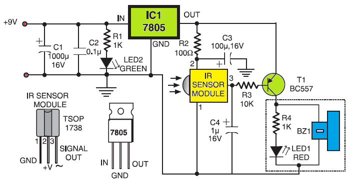 Simple Sensitive Tester For Infrared Ir Remote Control