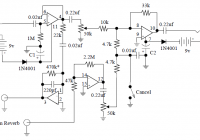 Stage Center Reverb guitar effect circuit diagram