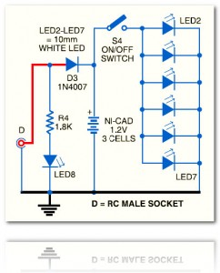 Small LED Lamp circuit