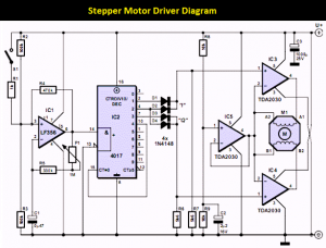 Stepper Motor Controller schematic