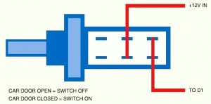 Car Door Switch Setting