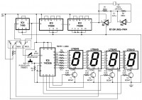 electronic stopwatch circuit design