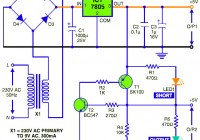 5vdc power supply circuit diagram featured short circuit protection