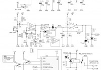 Clap On / Off Switch Diagram