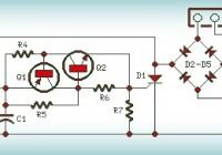 230V Dark Activated Lamp Circuit