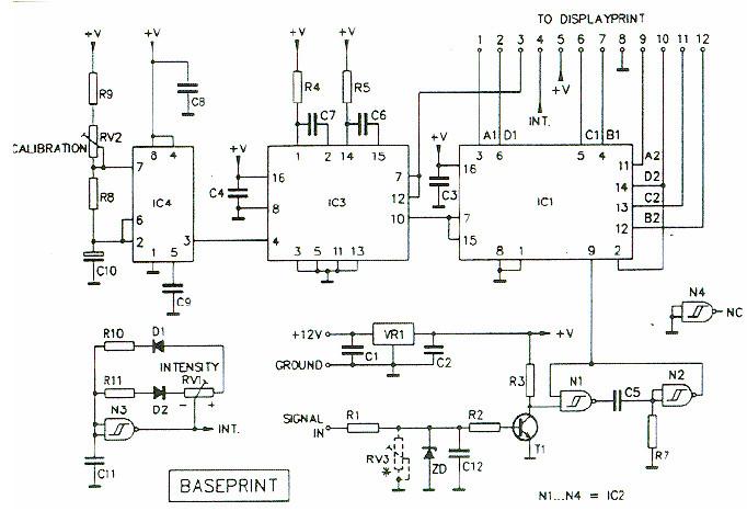 Digital Tachometer    Rpm Meter