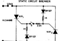 Static Circuit Breaker Diagram