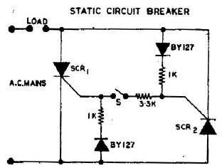 Static Circuit Breaker Diagram