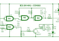 Car Audio System Anti Theft Security Circuit Diagram