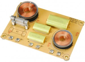 2 Way Passive Speaker Crossover Circuit