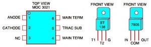 MOC2031 Pin Configuration